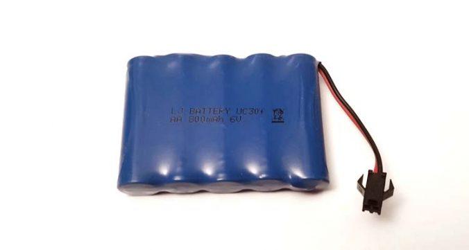 خرید باتری 6 ولت ماشین کنترلی شارژی ارزان RC CAR Battery